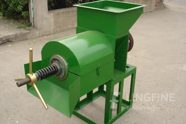 peanut oil press-- integrated screw oil press for both